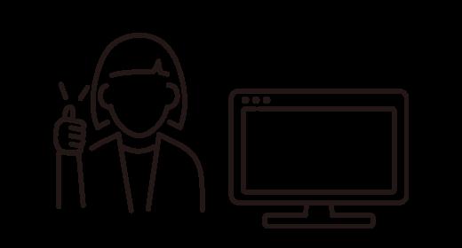 授業開始時間前に講師たちの出欠状況を本部がオンラインで管理。欠勤もすぐに対応します